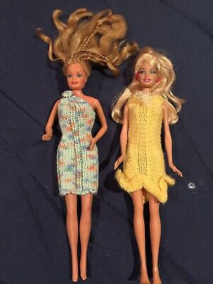 Hand Knitted Dolls Clothes For Barbie Doll
