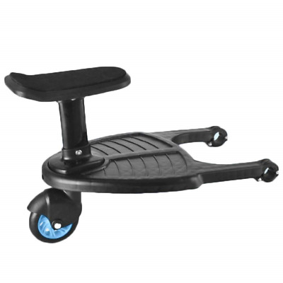 Kids' Safety Pushchair Board, Buggy Board, Running Board with seat Ride-on with