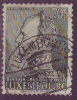 (b) Timbre Luxembourg - 1939 - Guillaume II - yvert 314 michel 323 sg 380