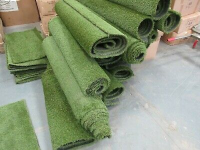 Artificial Grass Turf Offcut Roll End 25mm Pile Astro  Many Sizes Discounted