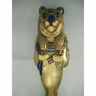 Egyptian Pharaonic Golden Statue - 8*10*30 Cm