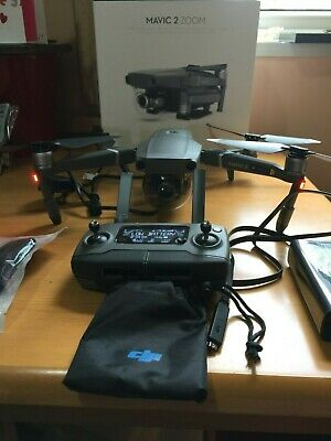 DJI MAVIC ZOOM 2 - Quadcopter Camera Drone with 24/48mm Optical Zoom & 4K Video.