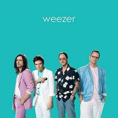 Weezer Teal Album - Record Store Day (Rsd) 2019 Lp - New Sealed - Colored Vinyl