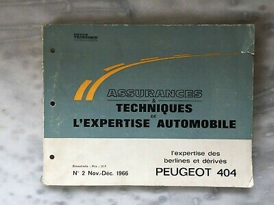 peugeot 404 Revue Technique Peugeot 1966 expertise automobile