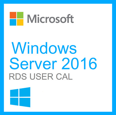 Microsoft Windows Server 2016 Standard/Datacenter OS + User/Device RDS Cals