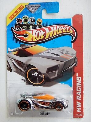 Chicane (Chrome) Diecast Car (Hot Wheels)(2012)