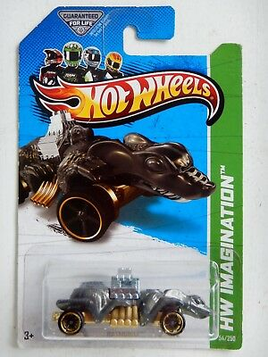 Ratmobile (Gray) Diecast Car (Hot Wheels)(2012)