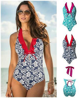 Pour Moi Aloha Control Swimsuit7107 Womens Swimming Costume