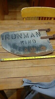 Antique Windmill tail Fin
