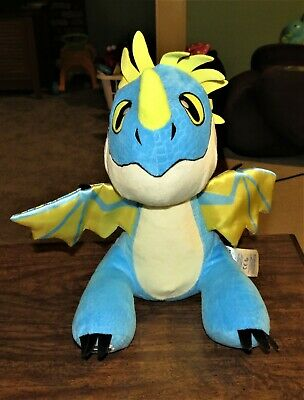 Build A Bear Dragons How To Train Your Dragon Blue Stormfly Plush