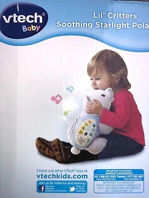 Lil' Critters Soothing Starlight Hippo by VTech. Open Box