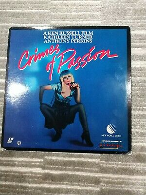 Crimes Of Passion Laserdisc Extended Play Edition Ken Russell