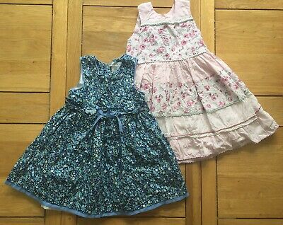 Bundle Of 2x Girls Dresses, Perfect For Spring &Summer, Age 2-3 Years