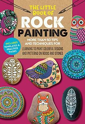 Little Book of Rock Painting by F. Sehnaz Bac New Paperback Book