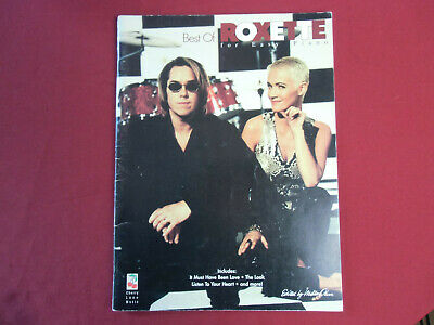 Roxette - Best of for Easy Piano . Songbook Notenbuch Vocal Easy Piano