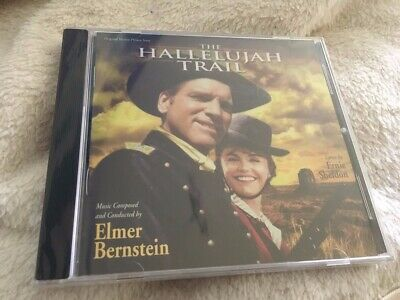 HALLELUJAH TRAIL - Elmer Bernstein - Rare Limited Varese CD -Neu-Sealed
