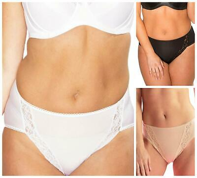 Pour Moi Body Comfort Brief High Rise 3815 Womens Knickers Lingerie