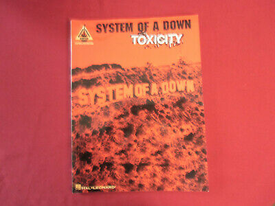 System of a Down - Toxicity. Songbook Notenbuch Vocal Guitar