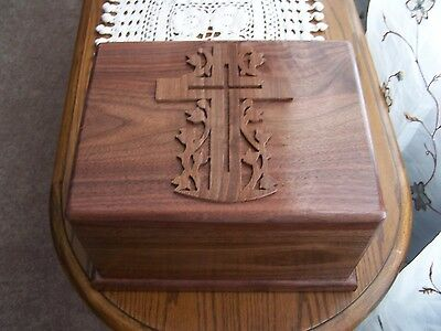 Walnut wood Cremation Urns  Adult 🇺🇸 USA