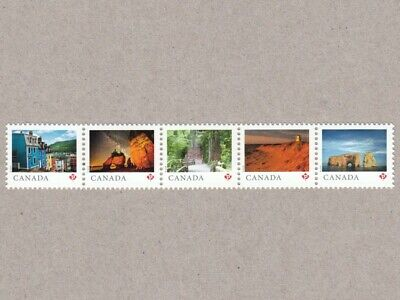 Strip of 5 from SS  = FROM FAR AND WIDE = Canada 2018 #3056a-e MNH VF