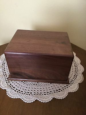 Walnut wood Cremation Urns     Adult USA Made 🇺🇸