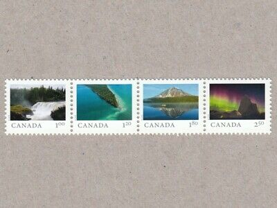 Strip of 4 HV sts from SS = FROM FAR AND WIDE = Canada 2018 #3056f-i MNH VF