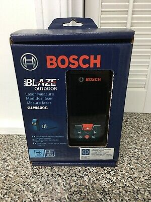 Bosch Digital Laser Measure 400 ft. Outdoor Battery Bluetooth Camera Viewfinder