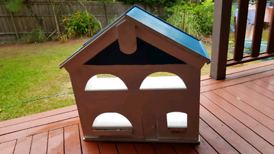 Solid wood toy house, collection near Wesley hospital