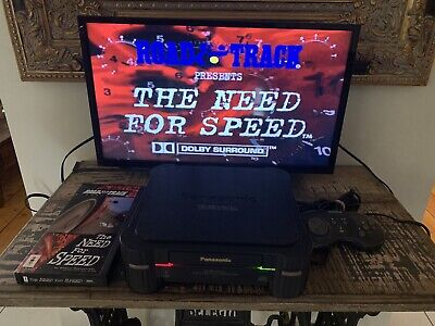 Panasonic 3DO Need For Speed! Controller All Cords. Power Supply Australian 240v