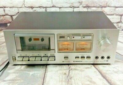 Vintage Pioneer Stereo Cassette Tape Deck CT - F500 Tested Working HIFI