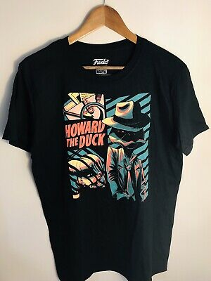 Funko Marvel Collect Corps Howard The Duck Graphic Tee T Shirt Size Small