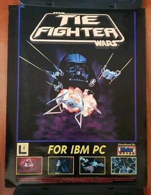 Tie Fighter PC Game Promo Poster