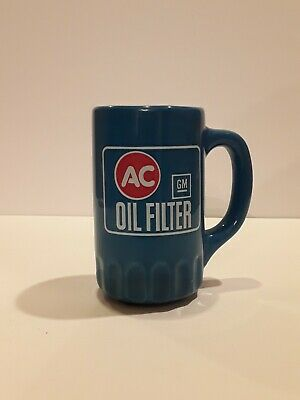 General Motors Ac Delco Oil Filter Coffee Cup Advertising
