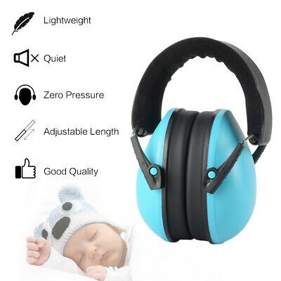 Sound Noise Reduction Kids Ear Hearing Protection Foldable Baby Earmuffs TH1038