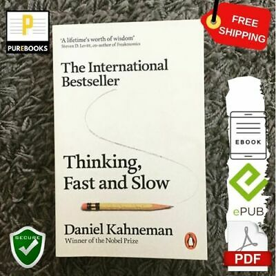 [PDF]: Thinking Fast and Slow 🔥 By Daniel Kahneman 📱 EB00K + GIFT  🎁 Secure✔️