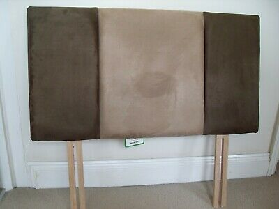 Single Headboard - Faux Suede (Pair)
