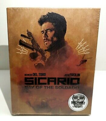 SICARIO DAY OF THE SOLDADO Blu-ray STEELBOOK FULLSLIP C [KIMCHIDVD]  OOS/OOP