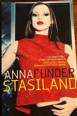 STASILAND by Anna Funder ~  Paperback 2002 Year 12 VCE English