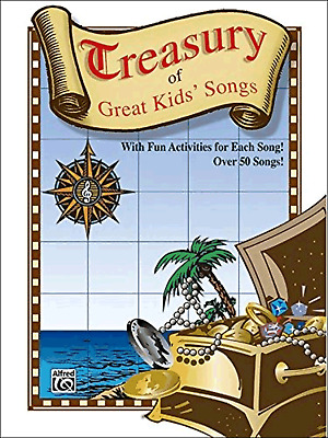 CHILDRENS SONGS & ACTIVITIES Piano Vocal Guitar Sheet Music Book Shop Soiled