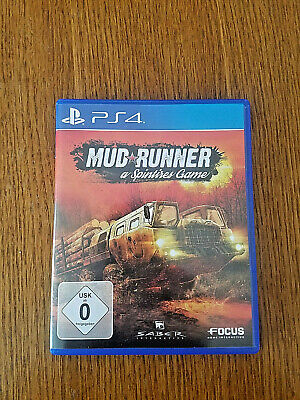 Spintires: MudRunner (Sony PlayStation 4, 2017)