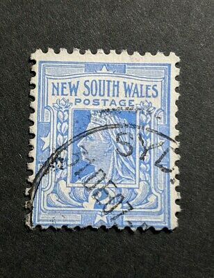 Australian Pre Decimal State  NSW New South Wales 1892 - 1910 2 d Blue