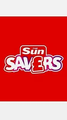 The Sun SUN SAVERS CODES 100% ***MAY  18th Saturday Booking***