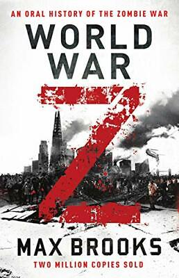 World War Z by Max Brooks New Paperback Book