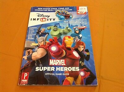 DISNEY INFINITY:MARVEL SUPER HEROES 2.0 Official Game Guide-Strategy Guide Book