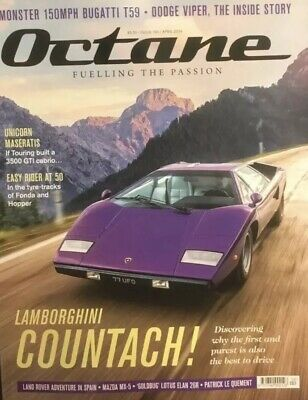 Octane Magazine (April 2019): Fuelling The Passion Brand New FREE POSTAGE