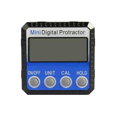 Mini LCD Digital Inclinometer Protractor Bevel Angle Gauge Magnet Bottom O5G1