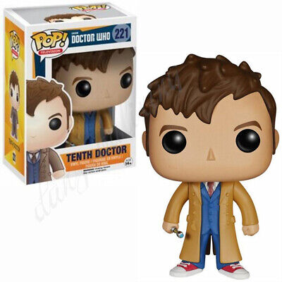 AU Stock Special gift Funko Pop Vinyl Figures Doctor Who-221 & TENTH DOCTOR