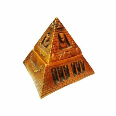 egypt  Pyramid Statue natural figurine - 20cm