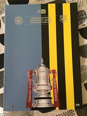 2019 FA Cup Final Official Wembley Programme - Manchester City v Watford