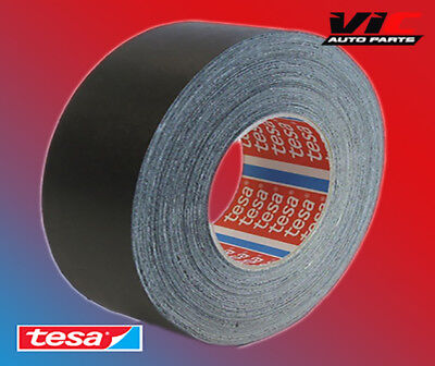 2 ROLL TESA 51036 19mm x 25m, HIGH TEMP ADHESIVE CLOTH TAPE CABLE LOOMS,WIRING